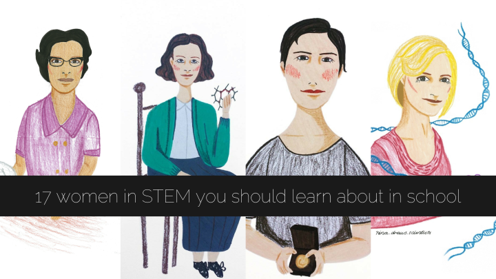 17 women in STEM who everyone should learn about in school textbooks